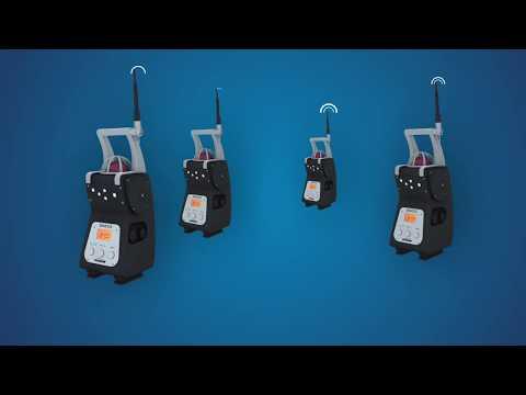BM25 - transportabelt gasvarningssystem