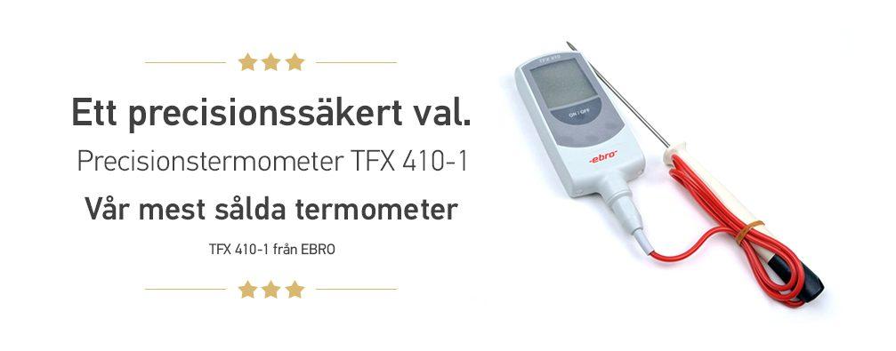 Termometer för livsmedel.