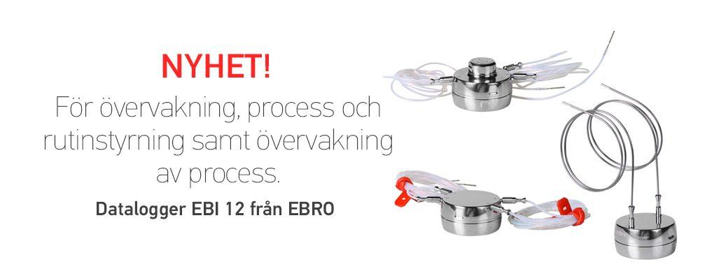 EBI 12, datalogger för övervakning av process och rutinstyrning.